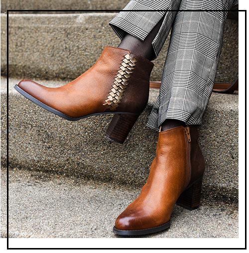 Un look citadin avec les boots ABORI