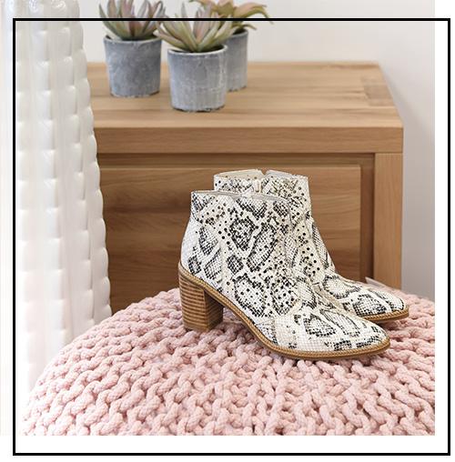 craquez pour des boots en été