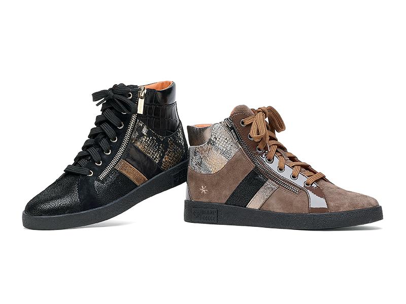 Découvrez le modèle baskets et sneakers MAM'ZELLE - modèle BAGAS