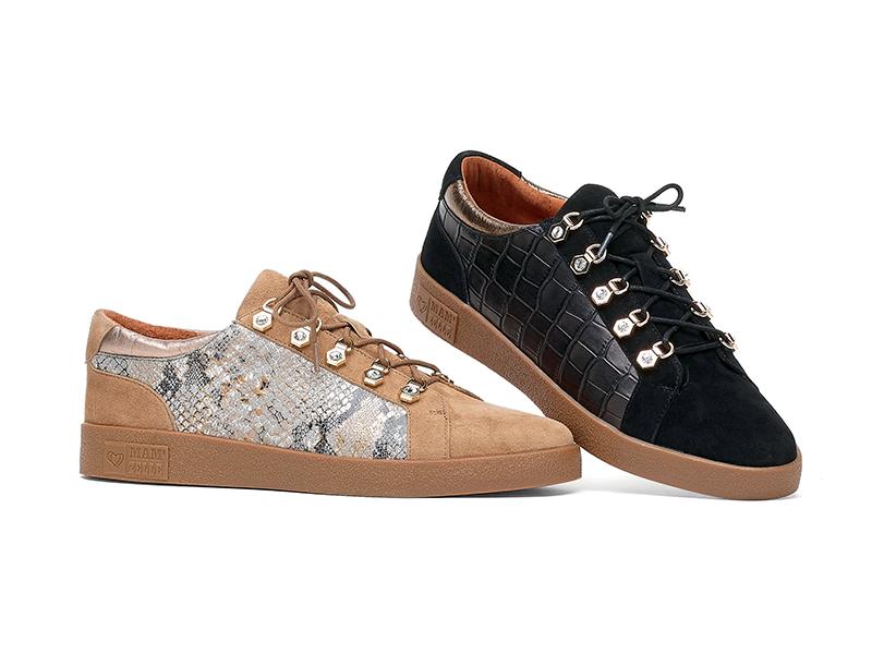 Découvrez le modèle baskets et sneakers MAM'ZELLE - modèle BLUES