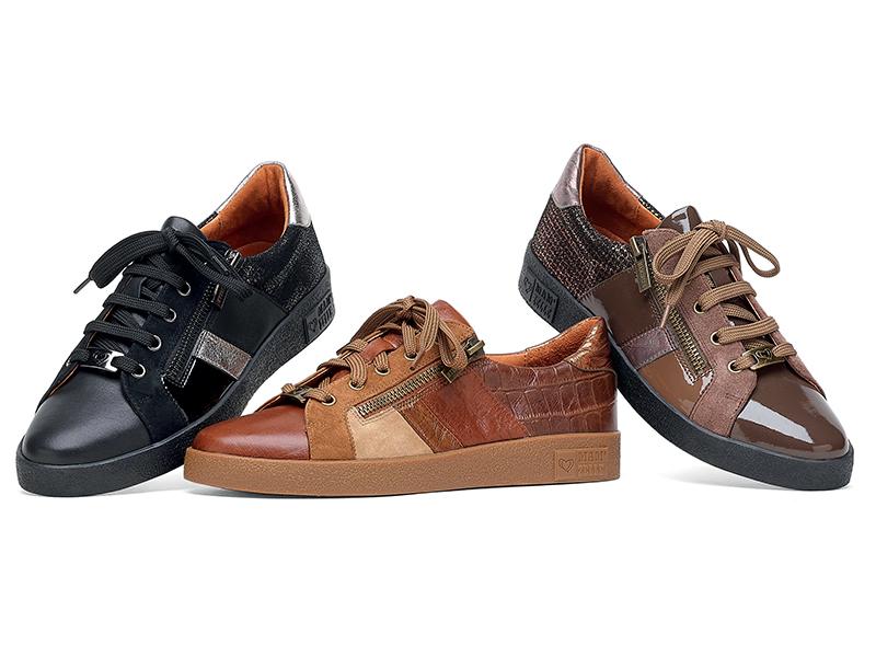 Découvrez le modèle baskets et sneakers MAM'ZELLE - modèle BORA