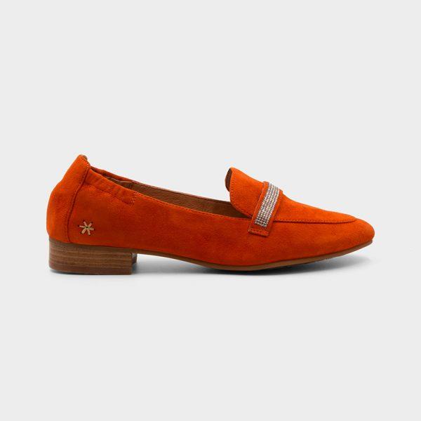Vue de profil modèle Zavon Orange
