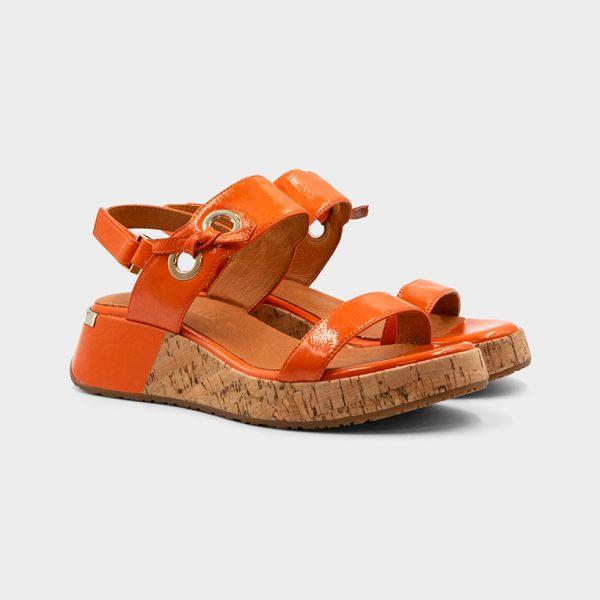 Vue double modèle Clip Orange