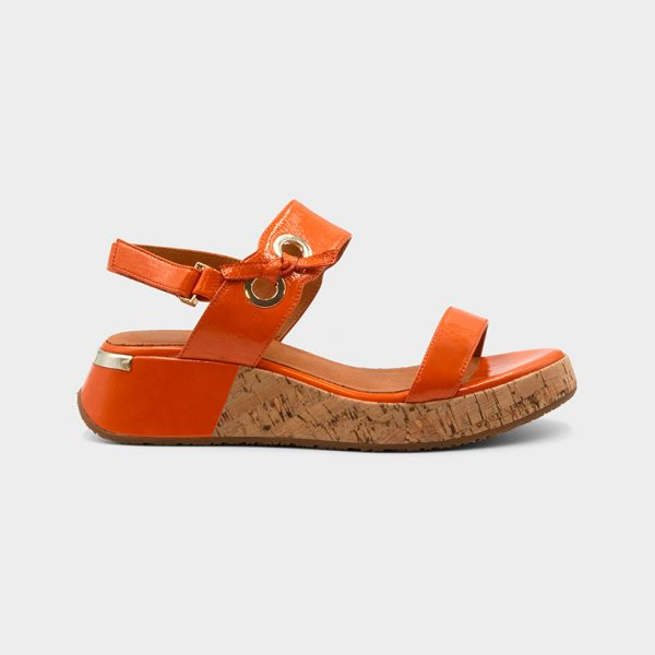 Vue de profil 1 modèle Clip Orange