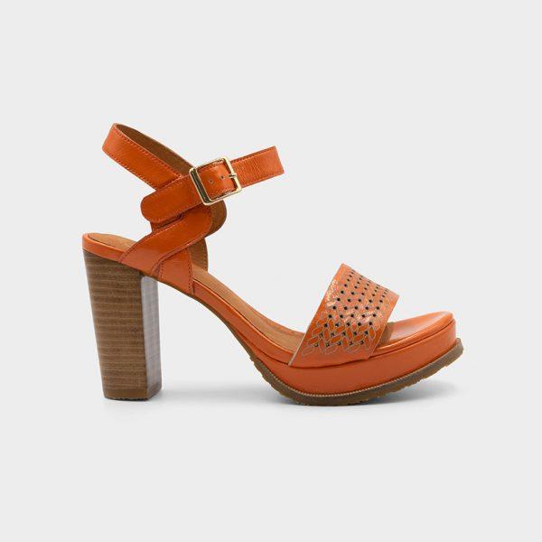 Vue de profil 1 modèle Joba orange