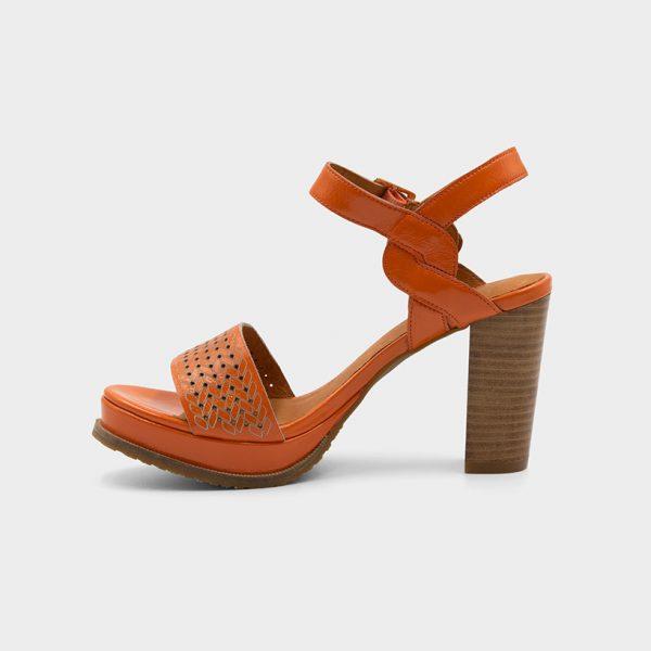 Vue de profil 2 modèle Joba orange