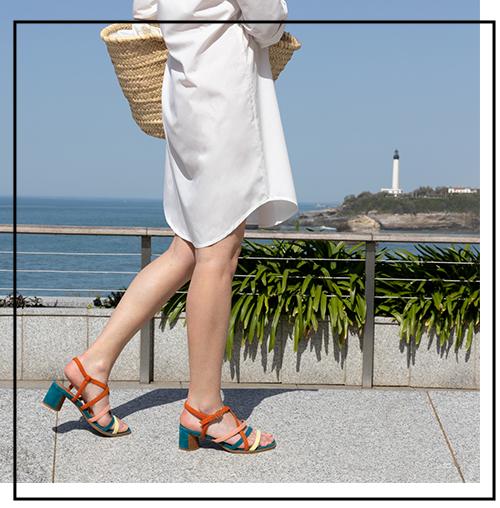 sandale et plage