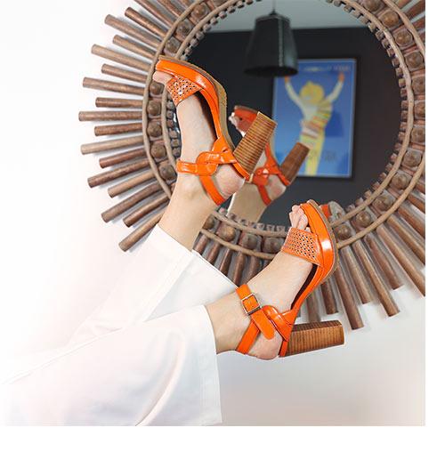 le modèle JOBA - sandale à talon